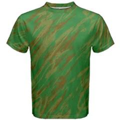 Brown green texture                                                  Men s Cotton Tee