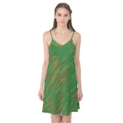 Brown green texture                                                  Camis Nightgown