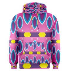 Ovals and stars                                                    Men s Pullover Hoodie