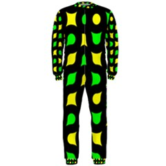 Yellow green shapes                                                     OnePiece Jumpsuit (Men)