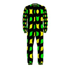 Yellow green shapes                                                     OnePiece Jumpsuit (Kids)