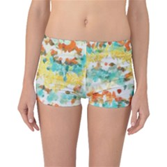 Retro watercolors                                                      Boyleg Bikini Bottoms