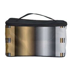 Gold Silver Carpet Cosmetic Storage Case