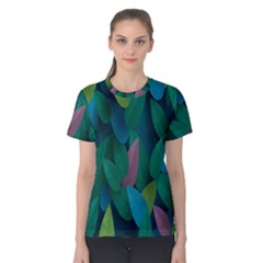 Leaf Rainbow Women s Cotton Tee