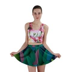 Leaf Rainbow Mini Skirt