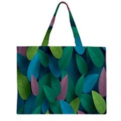 Leaf Rainbow Large Tote Bag