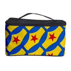 Images Album Heart Frame Star Yellow Blue Red Cosmetic Storage Case