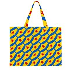 Images Album Heart Frame Star Yellow Blue Red Large Tote Bag
