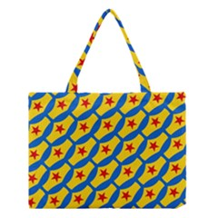 Images Album Heart Frame Star Yellow Blue Red Medium Tote Bag