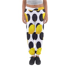 Orange Lime Fruit Yellow Hole Women s Jogger Sweatpants