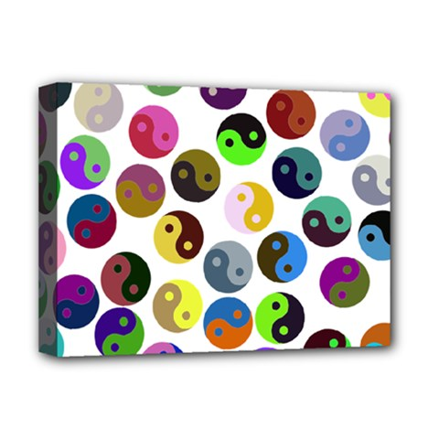 Ying Yang Seamless Color Cina Deluxe Canvas 16  x 12