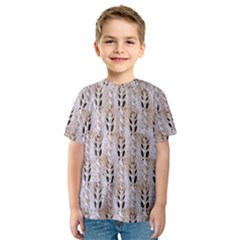 Jared Flood s Wool Cotton Kids  Sport Mesh Tee