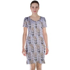 Jared Flood s Wool Cotton Short Sleeve Nightdress