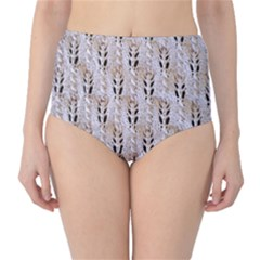 Jared Flood s Wool Cotton High-Waist Bikini Bottoms