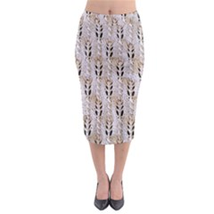 Jared Flood s Wool Cotton Midi Pencil Skirt
