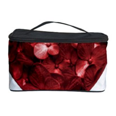 Floral Heart Shape Ornament Cosmetic Storage Case