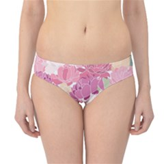 Peonies Flower Floral Roes Pink Flowering Hipster Bikini Bottoms