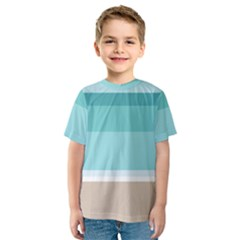 Rainbow Flag Kids  Sport Mesh Tee