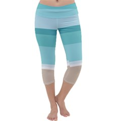 Rainbow Flag Capri Yoga Leggings