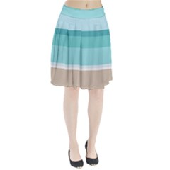 Rainbow Flag Pleated Skirt