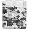 Point Line Plane Themed Original Design Duvet Cover Double Side (California King Size) View1
