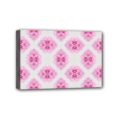 Peony Photo Repeat Floral Flower Rose Pink Mini Canvas 6  x 4