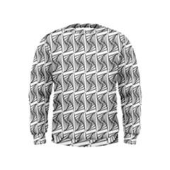 Plaid Black Kids  Sweatshirt