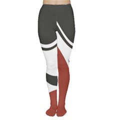 Red Black Women s Tights