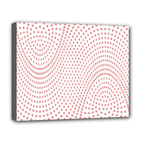 Red Circle Deluxe Canvas 20  x 16