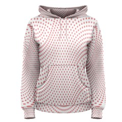 Red Circle Women s Pullover Hoodie