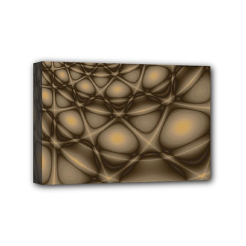 Rocks Metal Fractal Pattern Mini Canvas 6  x 4