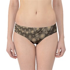 Rocks Metal Fractal Pattern Hipster Bikini Bottoms