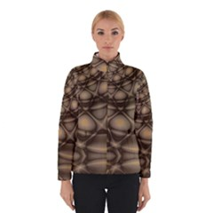 Rocks Metal Fractal Pattern Winterwear