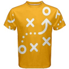 Sign Yellow Strategic Simplicity Round Times Men s Cotton Tee
