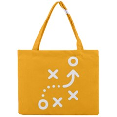 Sign Yellow Strategic Simplicity Round Times Mini Tote Bag