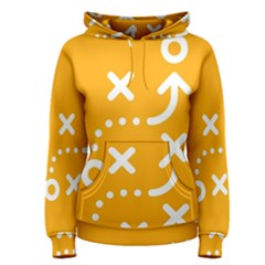 Sign Yellow Strategic Simplicity Round Times Women s Pullover Hoodie