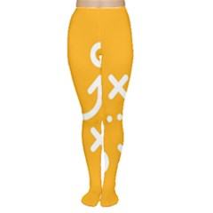 Sign Yellow Strategic Simplicity Round Times Women s Tights