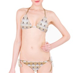 Pattern Retro Background Texture Bikini Set