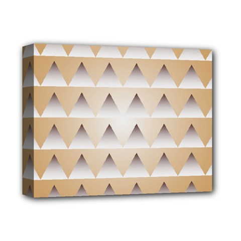 Pattern Retro Background Texture Deluxe Canvas 14  x 11