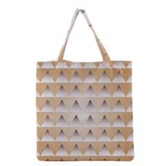 Pattern Retro Background Texture Grocery Tote Bag