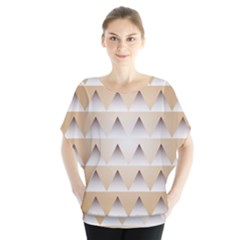Pattern Retro Background Texture Blouse