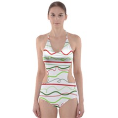 Rope Pitha Cut-Out One Piece Swimsuit
