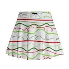 Rope Pitha Mini Flare Skirt