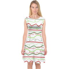 Rope Pitha Capsleeve Midi Dress