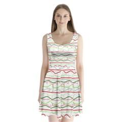 Rope Pitha Split Back Mini Dress