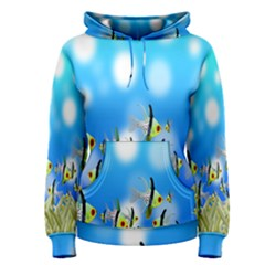 Pisces Underwater World Fairy Tale Women s Pullover Hoodie