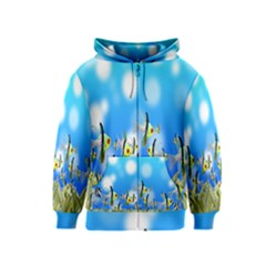 Pisces Underwater World Fairy Tale Kids  Zipper Hoodie