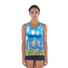 Pisces Underwater World Fairy Tale Women s Sport Tank Top