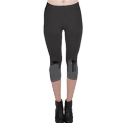 Windmild City Building Grey Capri Leggings