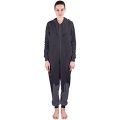 Windmild City Building Grey Hooded Jumpsuit (Ladies)